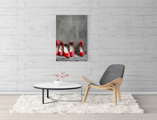 Art print: Ballet Shoes