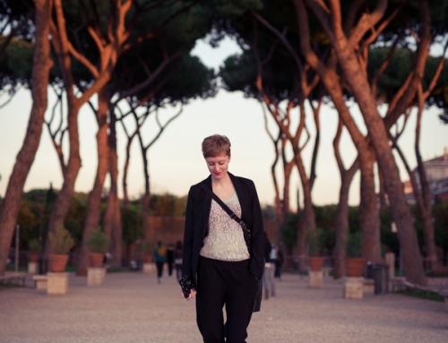 Mirjam in Rome